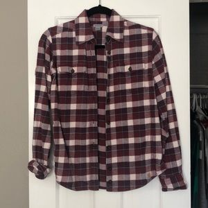 Carhartt Button-Down Flannel Shirt